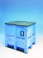 De grootste en meest veelzijdige palletbox : 1.400L